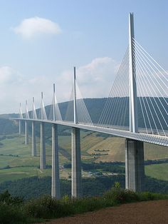 Millau Viaduct Bridge in southern France...tallest in the world!