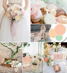 elegant blush pastel wedding color ideas #weddingcolors #elegantweddinginvites