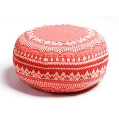 Ernest Pouffe. I want a pile of these in different colours in my lounge room.
