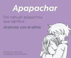 Apapachar: Del náhuatl apapachoa