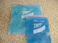 Flexible Ice Packs