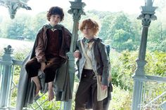 Potential cosplay idea for my best friend and I. She'd be Sam and I would be Frodo.