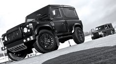 Mean Land Rover Defender XS90 Chelsea Wide Track Concept
