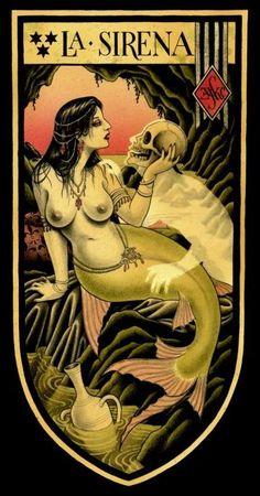 No You Shut Up — Mermaid! La Sirena by Christopher Conn Askew Real Mermaids, Mermaids And Mermen, Sirens, Mythical Creatures, Sea Creatures, Inspiration Artistique, Mermaid Fairy, Dark Mermaid, Siren Mermaid