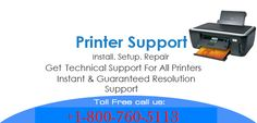 We offer instant and user-oriented technical support through a team of certified tech experts for all sorts of offline, wireless, and driver related issues directly or indirectly associated with all leading and branded  printers. Just call our toll-free printer support phone number and get the best help from the right authority.