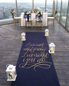 Inspiration for a Winter Wedding Blue & Silver Color Scheme Navy Blue And Gold Wedding, Blue White Weddings, Blue And Silver, Silver Color, Wedding Color Schemes, Wedding Colors, Aisle Runner Wedding, Wedding Aisles, Wedding Ceremonies