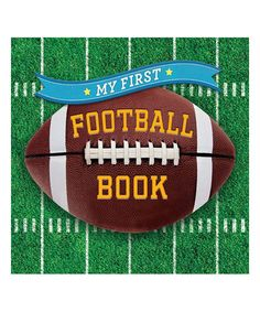 Sterling My First Football Book Board Book | zulily