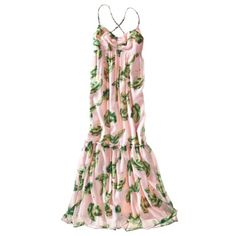 The Webster at Target® Petites Sleeveless Maxi Dress - Melon/Green.Opens in a new window