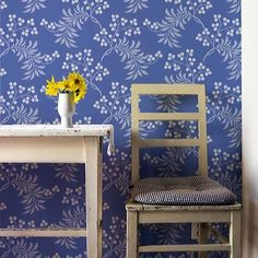 Flower Stencils | Berry Romantic Stencil | Royal Design Studio