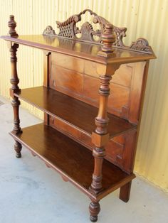 American Antique Bookcase Display Cabinet Etagere Antique Furniture