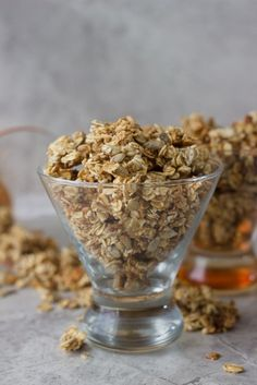 Low Fat Sesame and Sunflower Seed Granola by SavyNaturalista