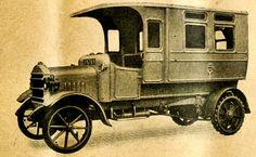 Metropolitan Asylum's Board Ambulance Bus, built by Straker-Squire Limited, London (1917)