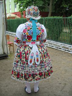 Folk costume of Kalocsa, Hungary