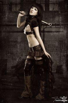 Steampunk'd by destroyinc.deviantart.com on @DeviantArt