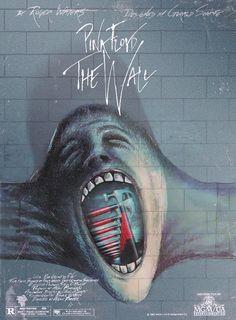 rock psychedelic Poster pink floyd Roger Waters the wall pink Floyd gif Pink Floyd Wall, Arte Pink Floyd, Pink Floyd Movie, Rock Posters, Band Posters, Music Posters, Iron Maiden, Music Love, Rock Music