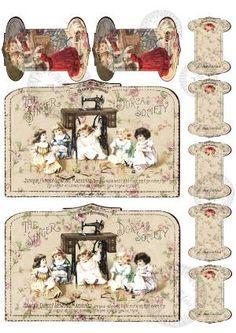 Understanding The Vintage Sewing Pattern - Sewing Method Images Vintage, Vintage Tags, Vintage Labels, Vintage Ephemera, Vintage Pictures, Vintage Paper, Vintage Prints, Paper Art, Paper Crafts