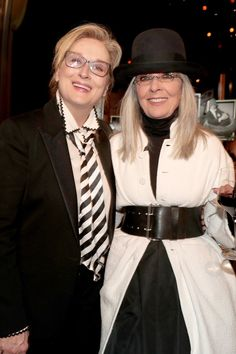 Meryl Streep Dressed as Diane Keaton to Honor Diane Keaton, and It Was Perfect