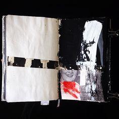 #sketchbook #collage Masha Litvinova