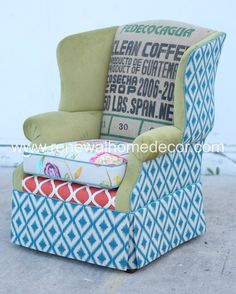 ReNewal Home Decor - Donna's Studio Wingback