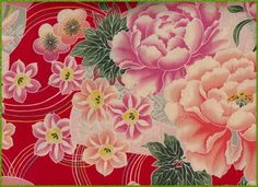 Kimono fabric...