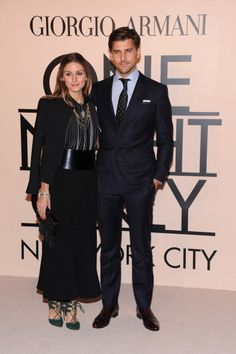 #OliviaPalermo and #JohannesHuebl attend #GiorgioArmani - One Night Only New York at SuperPier on October 24, 2013 in New York City.