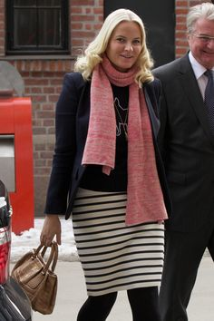 Princess Mette-Marit Photos - Princess Mette-Marit Visits the Scandic Vulkan Hotel - Zimbio