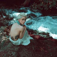 Conceptual Portrait Photography by Riccardo Melosu #inspiration #photography