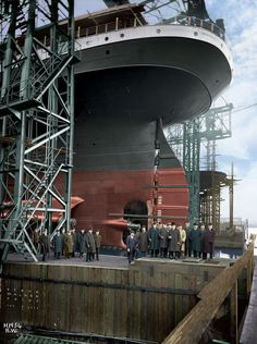 History Shall Be Kind — ocean-liners: Stern of the HMHS Britannic Rms Titanic, Titanic Photos, Titanic Ship, Titanic History, Titanic Movie, Titanic Underwater, Ship Paintings, Liner, Water Crafts