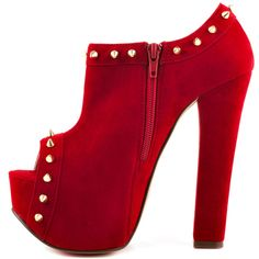 Luichiny Women's Mighty Miss – Red Suede