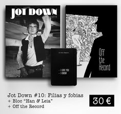 Quiero el Megapack Nº 10 Off the record de @JotDownSpain