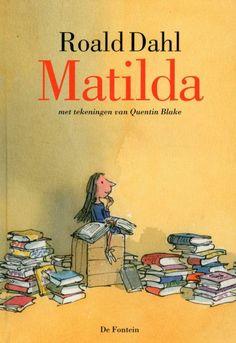 - Titel: Matilda - Auteur: Roald Dahl - Fictie - Onderwerp: avonturen van een meisje met telekinetische krachten