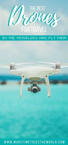 Looking to pick up a drone to take on your travels? Have we got the guide for you! Complete with recommendations from travelers who fly them and a comparison table to get the info to you as quick as possible - this guide to best drones for travel will have your new bird picked out in no time! #drone #travelphotography #dronesfortravel | Drone Photography | Drone Travel Photography