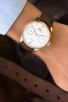 Explore the IWC Portugieser Automatic, one of the style icons of modern haute horlogerie.
