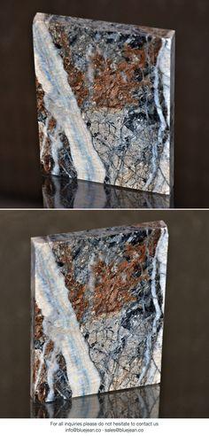 Blue Jean marble | Turkey #bluejeanmarble #marble #marmi #marmo #slabs #tiles #naturalstone #design #marbledesign #bluejeansmarble #furniture #homedecor #homedesign #architecture #interiordecor #interiors #decoration #decor