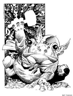 Walt Simonson's undeniably superb #Frog #Thor.  It happened.  I love comics.