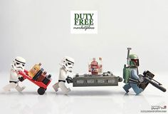 Cloud city duty free shop by storm TK431 | LEGO Star Wars Stormtrooper , Han Solo Carbonite Block & Boba Fett Minifigs