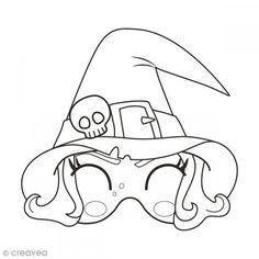 83 meilleures images du tableau coloriage masque masks preschool et carnival diy - Coloriage masque halloween ...