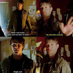 Probably the most iconic words in supernatural