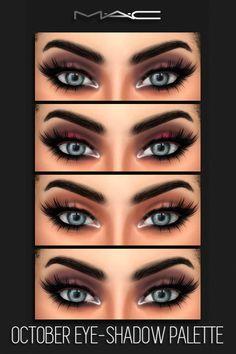 MAC cosimetics: October Eye-Shadow Palette • Sims 4 Downloads