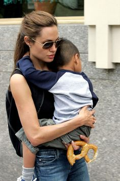 Angelina & Maddox