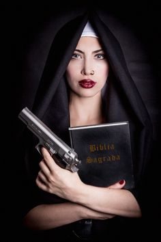 Hot Tempting Nun