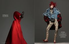Amanda Wellsh WEARS #RED  #TREND #STYLE FOR VOGUE NETHERLANDS