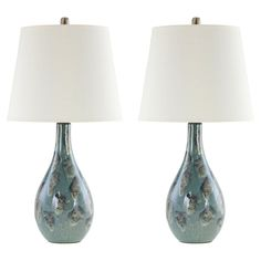 Aspire Home Accents Zuri Table Lamp Pair | from hayneedle.com