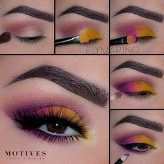 Eye Makeup Tips – How To Apply Eyeliner – Makeup Design Ideas Makeup Eye Looks, Eye Makeup Steps, Cute Makeup, Skin Makeup, Makeup Brushes, Weird Makeup, Awesome Makeup, Beautiful Eye Makeup, Zombie Makeup