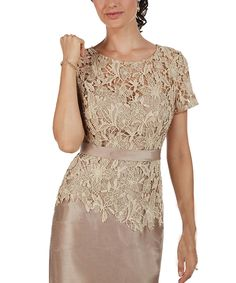 Pandora Dress Women's Short Sleeves Mother of the Bride Dresses Lace Evening Gowns Cheap