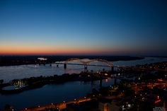 #Memphis from one commerce square. One of the best images I have produced ( I think)