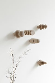 DESIGN FUERS HEIM woodland hooks // Art direction, styling and photography: @studiooink