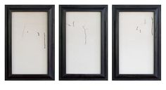 Snowscenes - pigment prints in artist made frames by Jefferson Hayman