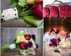 Dusty Plum, Burgundy and Pink Inspiration