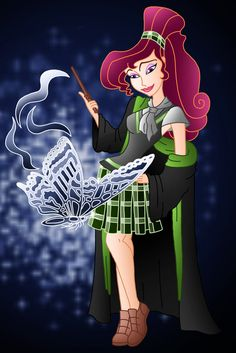 Disney Hogwarts students: Megara by ~Willemijn1991 on deviantART